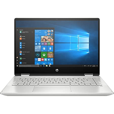 "HP Pavilion x360 Táctil - 14-dh1013ns - Ordenador portátil de 14"" FullHD Convertible (Intel Core i7-10510U, 8GB de RAM, 512GB SSD, NVIDIA MX250-2GB, Windows 10 ) Plata natural - teclado QWERTY Español"