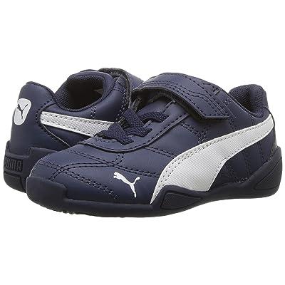 Puma Kids Tune Cat 3 V (Toddler) (Peacoat/Puma White) Boys Shoes