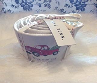Rae Dunn Home For The Holidays Christmas Measuring Cup Gift Set