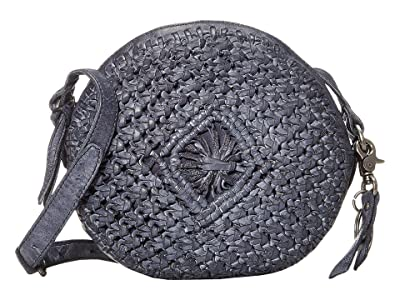 FRYE AND CO. Esme Tambourine Crossbody (Navy) Handbags