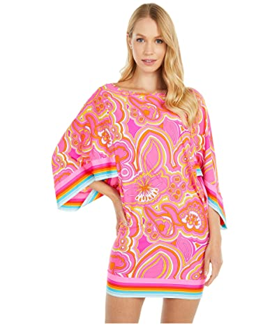 Trina Turk 25th Anniversary Morning Sunrise Tunic Swimsuit Cover-Up (Multi) Women