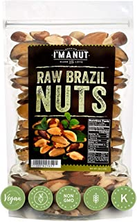 Raw Brazil Nuts 32oz (2 Pounds) Distinct and Superior to Natural and Raw | No PPO | Non GMO | Vegan and Keto Friendly | La...