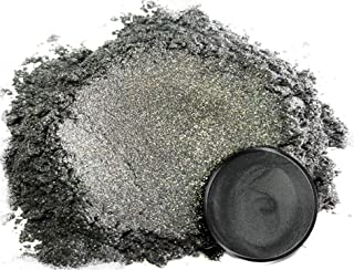 Eye Candy Pearls 50gr Japanese Steel Grey Mica Powder Pigments (Resin, Paint, Epoxy, Soaps, Nail Polish, Liquid Wraps)