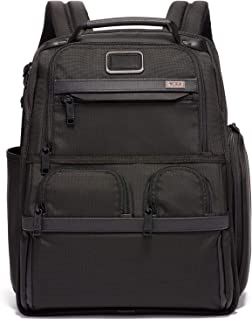 tumi alpha 2 compact laptop brief pack black