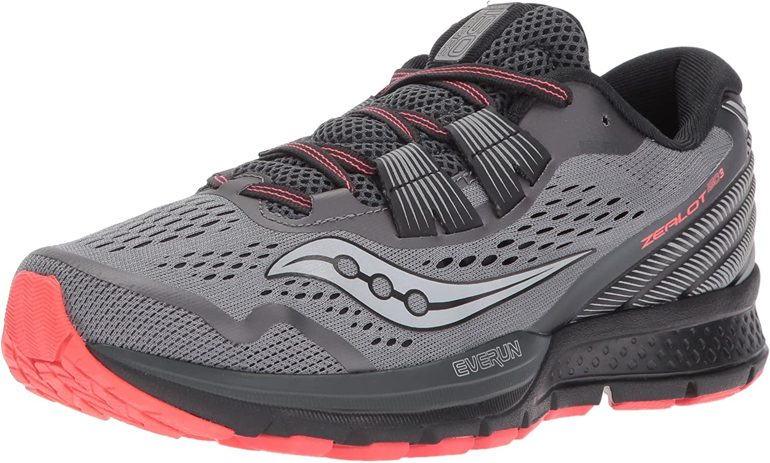 Saucony Women's Bargain sale Zealot Iso Inventory cleanup selling sale 3 Shoe Running