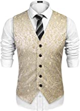 embroidered waistcoat mens