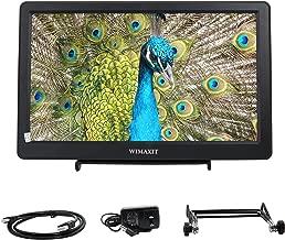 WIMAXIT 10.1 inch HDMI VGA Full HD IPS 1920x1080 Resolution Monitor for PC,Camera,CCTV Surveillance Monitors