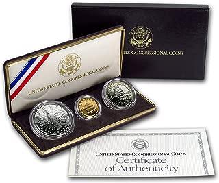 1989 congressional 3 coin set