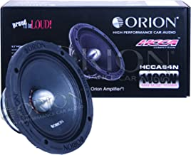 "ORION HCCA Series HCCA64N 6.5"" Ultra HIGH Efficiency MIDRANGE 1400 WATTS MAX Music.."