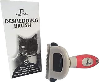 Ziggy Belle Deshedding Brush | Cat Grooming Brush | Deshedding Tool for Cats