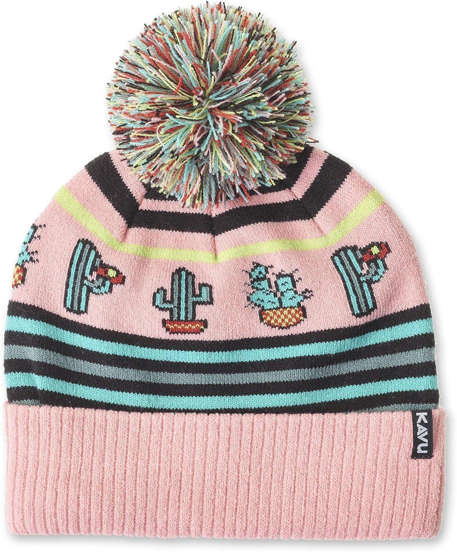 KAVU Herschel Pom Beanie Knit Ski Cap