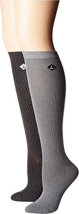 2-Pack Soft & Dreamy Knee Highs