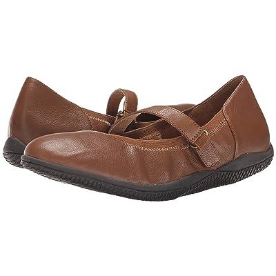SoftWalk Hollis (Luggage Soft Tumbled Leather) Women