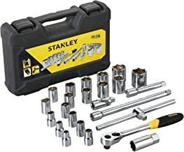 Stanley STMT72795-8 Drive Metric 1/2 inch Socket Set (24-Pieces)