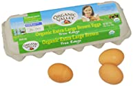 Organic Valley Organic Extra Large Brown Eggs, Dozen, 12 ct
