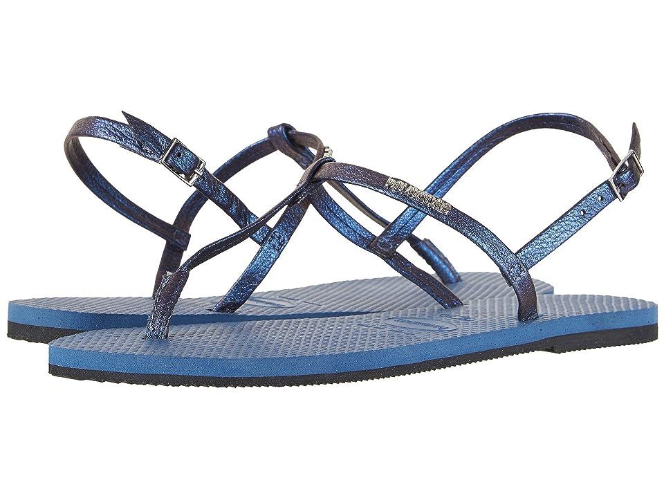 Havaianas You Riviera Sandals (Indigo Blue) Women
