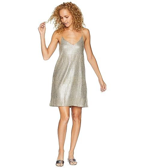 BISHOP + YOUNG Metallic Slip Dress, Metallic