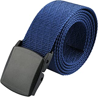 Shanxing Nylon Belts for Men,Military Style Tactical Waist Belt with Plastic Buckle