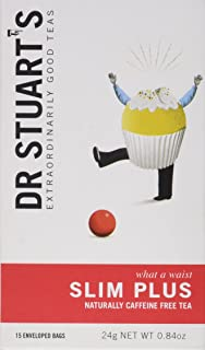 Dr Stuarts Slim Plus Caffeine Free Tea - 15 Teabags