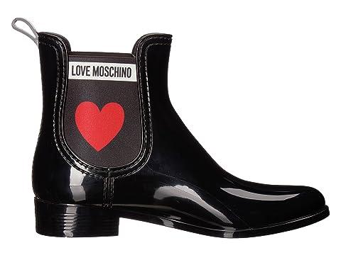 LOVE Boot BlackRed Moschino Rain LOVE Moschino aHraq