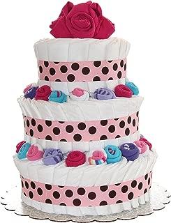 diaper cake designs girl