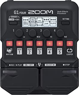 Zoom Electric Guitar Multi Effect (G1 FOUR)