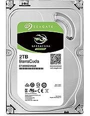 """Seagate BarraCuda 3.5"""" 2TB 内蔵ハードディスク HDD 2年保証 6Gb/s 256MB 7200rpm 正規代理店品 ST2000DM008"""
