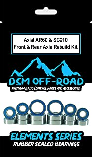 Axial AR60 & SCX10 Front & Rear Axle Bearing Kit (16 Bearings) (Fits Wraith, Bomber, Yeti, AX10, SMT10)