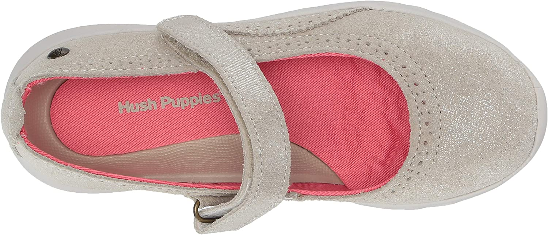 Hush Puppies Unisex-Child Flote Tricia Mj Mary Jane Flat