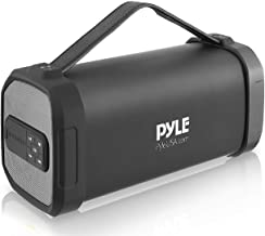 Pyle Wireless Portable Bluetooth Speaker-150 Watt Power Rugged Compact Audio Sound Box Stereo System with Rechargeable Bat...