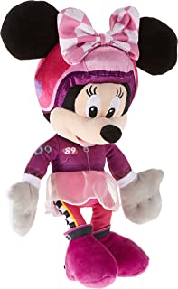 Disney Plush Roadster Minnie Racing, Multi-Colour,10 inches , PDP1601259
