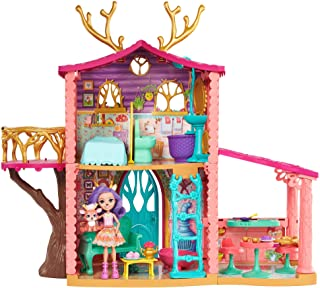 Enchantimals Cozy Deer House (~2ft) with Danessa Deer Doll (6-in) Playset [Amazon Exclusive]