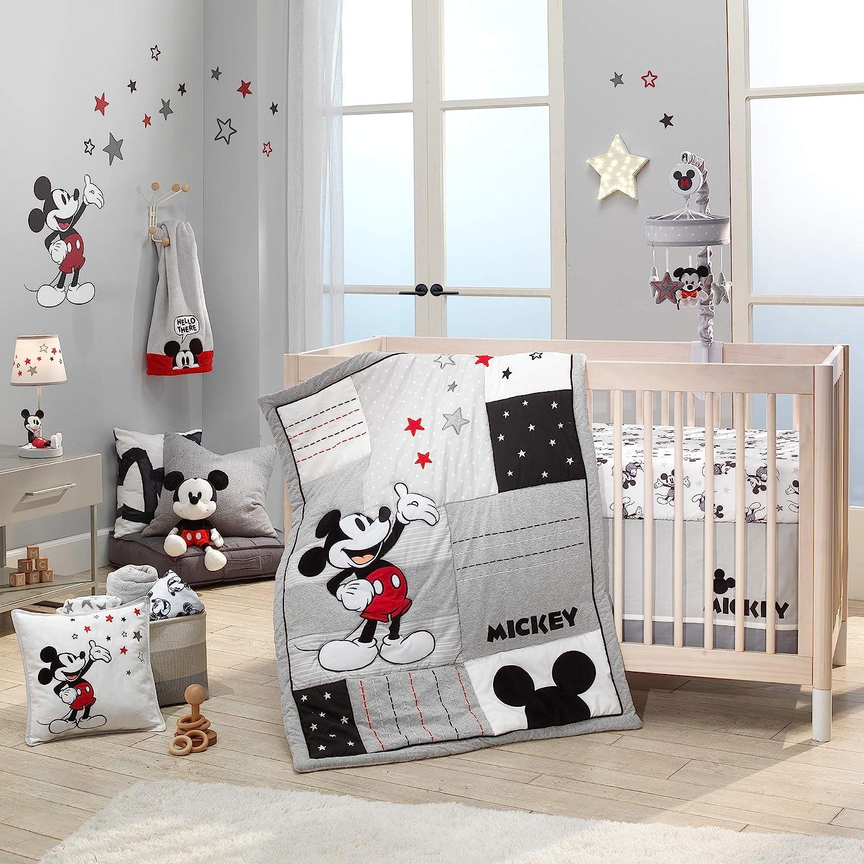 Lambs Ivy Washington Mall Disney Baby Magical Beddin Crib 3-Piece Max 54% OFF Mickey Mouse