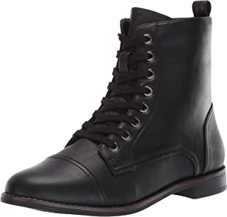 Aerosoles Women's Prism Combat Boot, Black, 7 M US