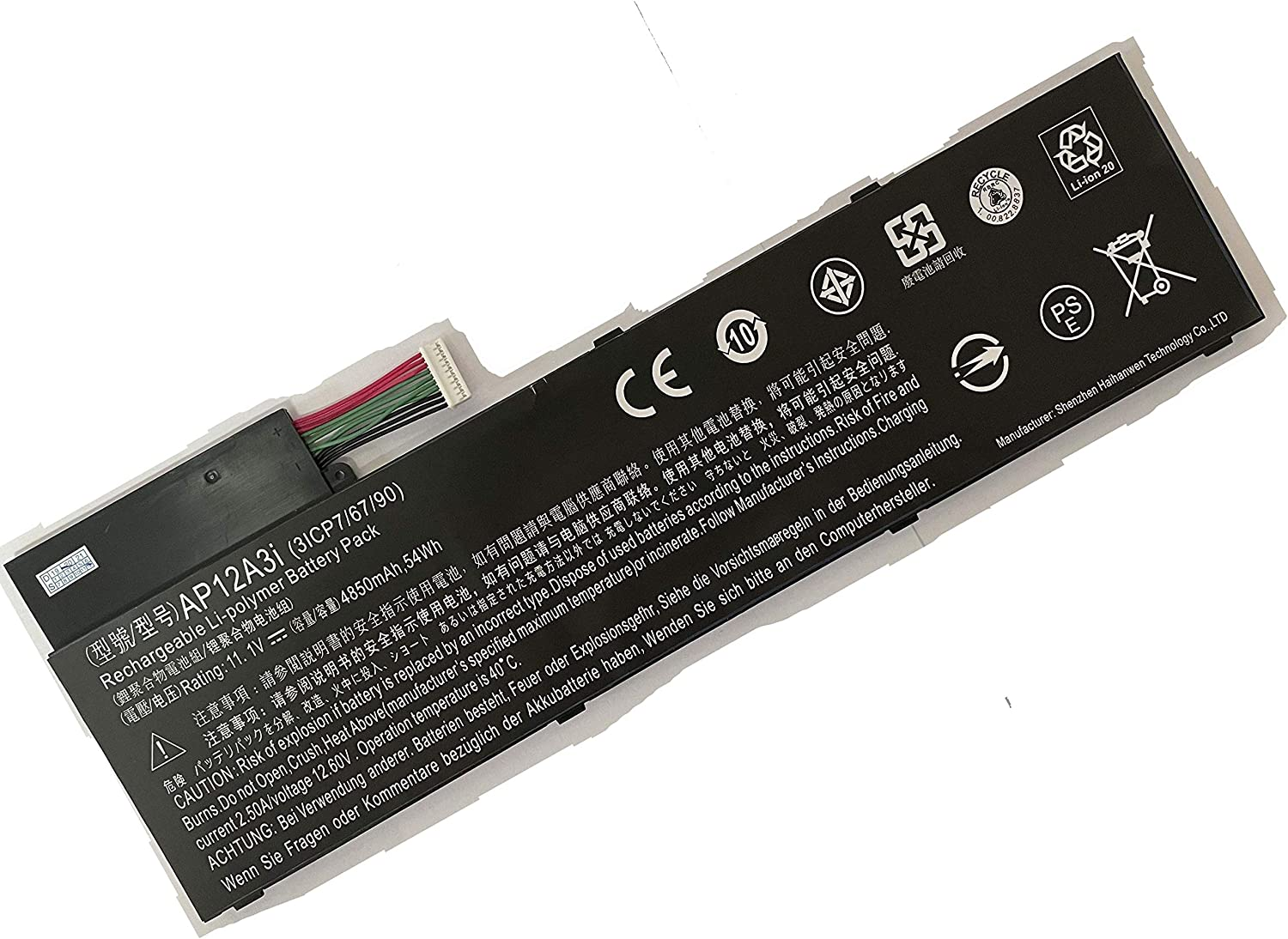 Powerforlaptop Laptop Notebook Replace Sales results No. 1 New life Acer Battery for Travelma