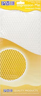 PME IM193 Tapis à Motif Nid d'Abeille, Plastique, Transparent, 15 x 1 x 30,5 cm