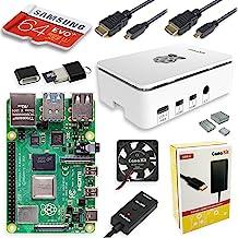 $139 » CanaKit Raspberry Pi 4 8GB Starter MAX Kit - 64GB Edition (8GB RAM)