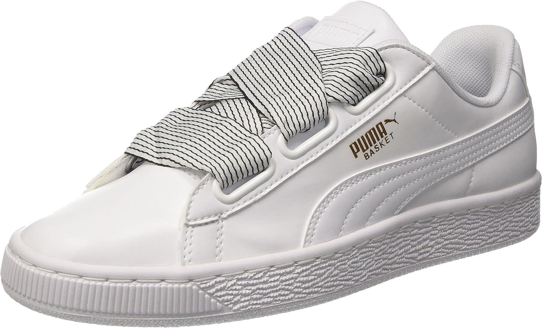 PUMA Women's Basket Heart WNS, White White