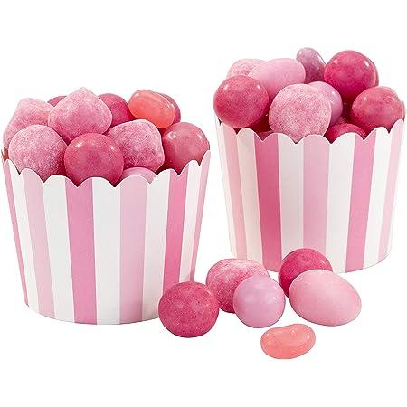 Talking Tables MIX-TREATCUP-PK Roses et Blanches mélanger et Assortir Party Cadeau Cups 20Pk décorations Parti, Papier
