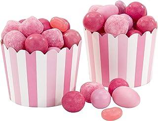 Talking Tables MIX-TREATCUP-PK roses et blanches mélanger et assortir Party Cadeau Cups 20Pk décorations parti, Papier, 6,...