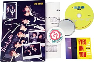 GOT7 Mini Album - Eyes on you [ EYES Ver. ] CD + Photobook + 3 Photocards + Lyrics Poster + FREE GIFT / K-Pop Sealed