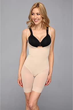 Miraclesuit Shapewear - Extra Firm Sheer Shaping Open Bust Mid-Thigh Slimmer