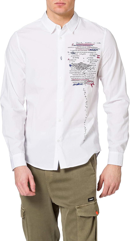 Desigual CAM_adelino Camiseta para Hombre