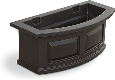 Mayne 4829-ES Polyethylene Window Box, Espresso