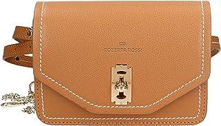 Roberta Rossi Outlet borsa a spalla/marsupio da donna in vera pelle Palmellato fatta a mano in Italia 13x18x5 cm Made in I...