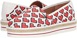 LOVE Moschino - Espadrille w/ Hearts