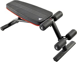 adidas Adjustable Ab Bench, Black/Silver/Red -  ADBE-10230