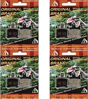 4 Pairs Hope TECH X2 Disc Brake Pads Semi Metallic Discpads MTB DH Cross TechX2