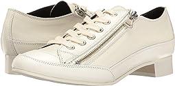 Side Zipper Low Shoes