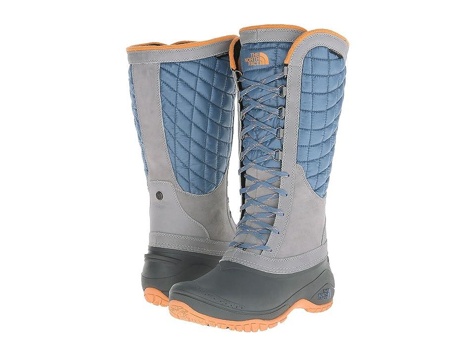 The North Face ThermoBalltm Utility (Cool Blue/Impact Orange (Prior Season)) Women